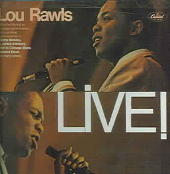LIVE BY RAWLS,LOU (CD)